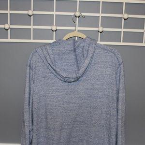 Old Navy Tops - Heathered blue zip-up hoodie